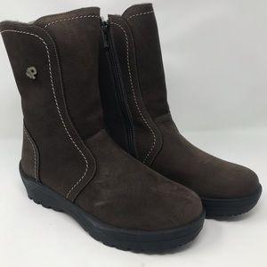 NWT Pajar Women's Bye-Bye Sheepskin Ice Boots